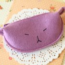 Purple Cute Cat coin bag purse