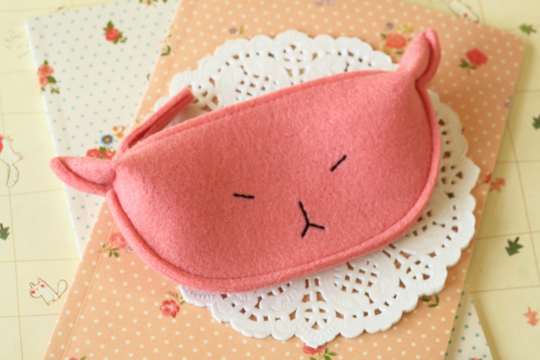 Pink Cute Cat coin bag purse
