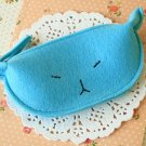 Blue Cute Cat coin bag purse