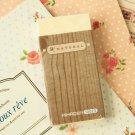 Wood Natural oversized eraser