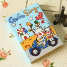 Blue Freaky Planet cute cartoon Sticker Notes