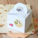 Smooth White Square Favour boxes