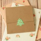 Textured Kraft Brown NO Glue CD sleeve envelopes