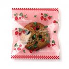 Pink Strawberry cellophane cookie bags sweets bags