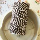 Dark Brown 20m Everlasto Bakers Twine string spool
