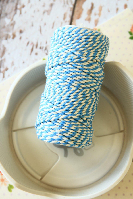Sky Blue 20m Everlasto Bakers Twine string spool
