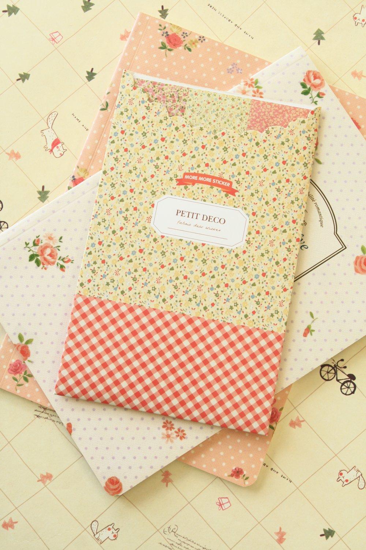 Petit Deco Floral stickers set