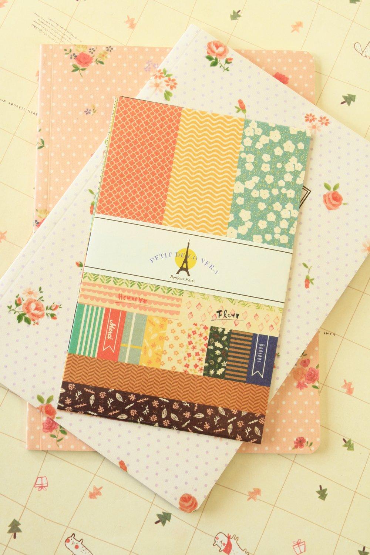 Ver 03 Petit Deco Floral stickers set