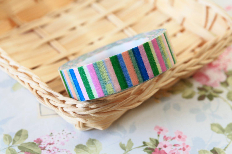 Colour Stripes fancy washi tape