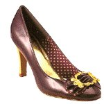 Vincci HEEL WITH BUCKLE  (PURPLE)