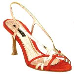 Vincci STRAPPY HEEL (RED)