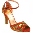 Vincci ANKLE STRAP HEEL(RED)