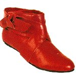 Vincci ANKLE HIGH BOOT(RED)