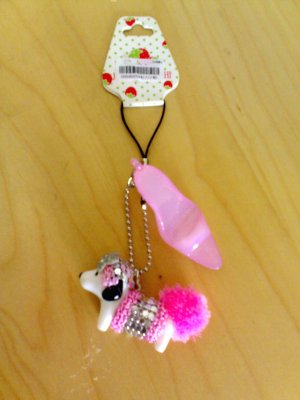 little dog  mobile chain