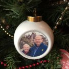 Personalized Photo Bauble. Make your own personalised bauble Christmas decoration.
