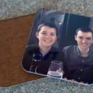 Personalized Photo Coasters. Wooden Personalised Coasters - Pack of 4