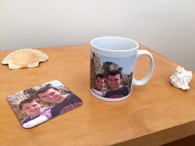 Personalized Photo Mug. Ceramic Mug Personalised with Photo.