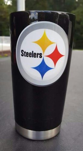 20 oz ozark trail tumbler pittsburgh steelers