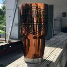 30 oz ozark trail tumbler candy copper with harley davidson logo