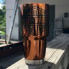 30 oz yeti tumbler candy copper with harley davidson logo