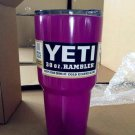 yeti 30 oz tumbler powdercoated purple