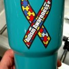 30 ounce Ozark Trail tumbler autism awareness