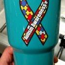 30 ounce Ozark Trail tumbler autism awareness