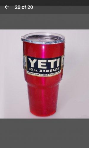 30 ounce Yeti tumbler hot pink pearl