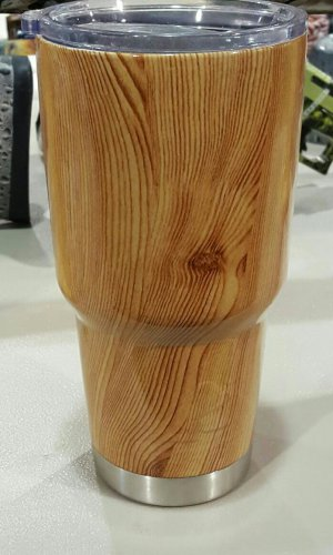 30 oz ozark trail tumbler wood grain