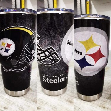 Pittsburgh Steelers 30 oz tumbler