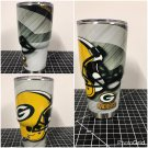 30 ounce Green Bay  Ozark Trail tumbler
