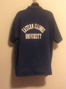Vintage Eastern Illinois University Bowling Shirt 1976 Bicentiennal Polyester