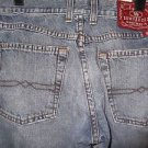 LUCKY BRAND DUNGAREES PEANUT PANT LOWER RISE FLARE WOMENS JEANS sz8