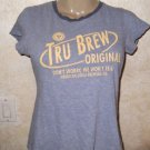 American Eagle Outfitters Juniors TRU BREW ORIGINAL tee Shirt M 100% Cotton