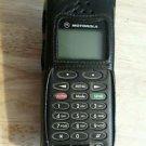 Vintage Motorola cell phone Nextel iDen collectible antique brick leather case