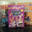 LOT OF 3 COLLECTABLE CEREAL BOXES- NFL 75TH, US OLYMPIC, '92 GRANT HILL R.O.T.Y.