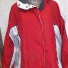 Women's Bugaboo Columbia Vertex Core Interchange Jacket Red/Gray/White Size L