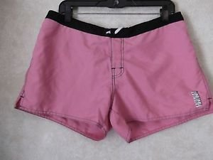 Havan Pink Black Board Shorts Juniors Size 13 Great Used Condition