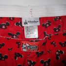 NEW Disney Parks Red MICKEY MOUSE EARS Boxer Shorts Boxers! XL Mouseketeers
