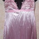 Brand new! pink babydoll nightgown & gstring size xxl fits like medium