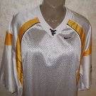 Men's NIKE APPAREL WEST VIRGINIA Football Jersey Short Sleeve Sz Medium NEW!