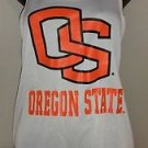 "WOMEN""S CAMPUS LIFESTYLE OREGON STATE BEAVERS BRAIDED RACER BACK JERSEY TANK Sz"