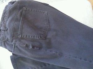 CHAPS Ralph Lauren Brown Bootcut Jeans Pants 12 Inseam 30 Cotton Blend Solid EUC