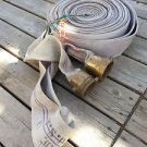 "Brand New 100' Firehose 2.5"" Brass Connections MADE IN USA!!!!"