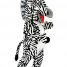 Customised Zebra Mascot SpotSound Canada Animal With Black And White Stripes