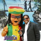 Rastafarian Jamaican Reggae Human Mascot SpotSound Canada With Dreadlocks