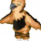 Bird Wildlife Mascot SpotSound Canada With Beak And Wings In Brown Tones