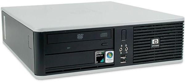 5 HP Compaq DC5850 SFF AMD Athlon X2 2.3 GHZ-250 GB HD, Windows 7-Desktop PC