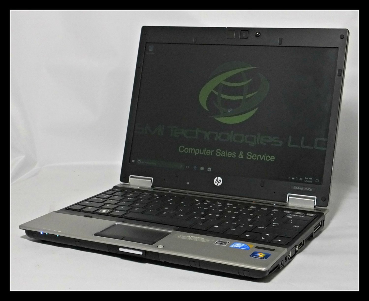 HP Elitebook 2540P Ultra-Portable Laptop