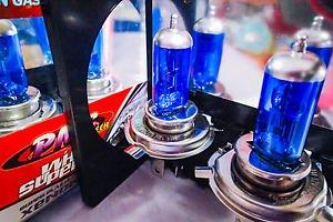 Motorcycle H4 Xenon Light Bulb PAIR 60/55w YAMAHA MOST VSTAR ROADSTAR ROYAL STAR